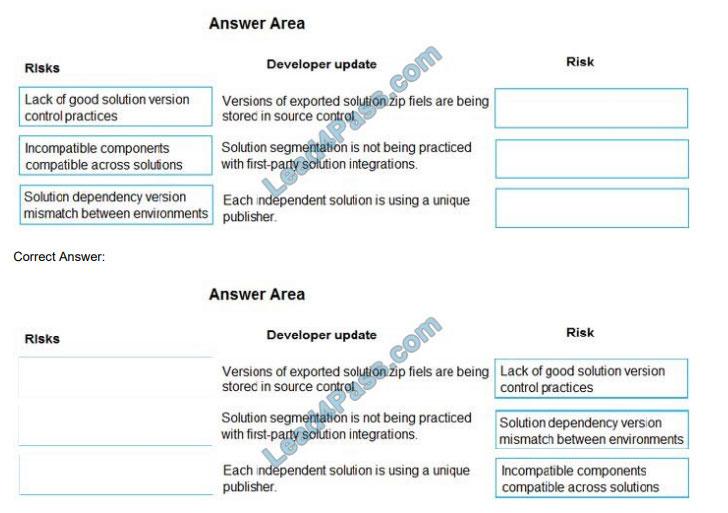 lead4pass mb-600 exam questions q11