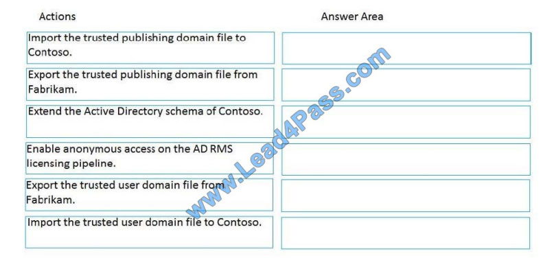 lead4pass 70-742 exam questions q12